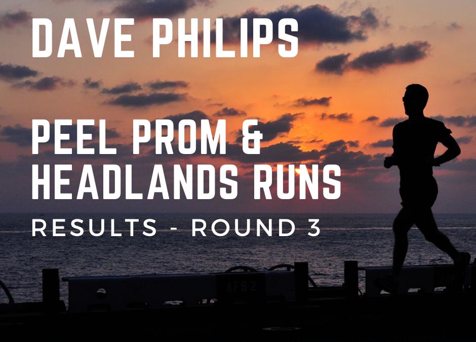 Peel Promenade and Headlands Running Series – Round 3 Results