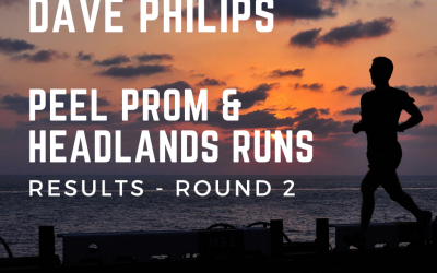 Dave Philips Peel Promenade Runs – Results Round 2