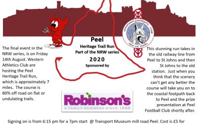 Peel Heritage Trail Run – 14th August