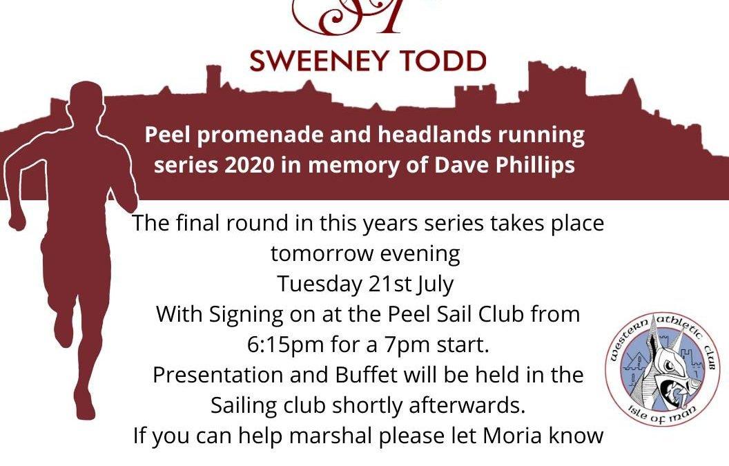 Final round of Peel Promenade and Headlands running series