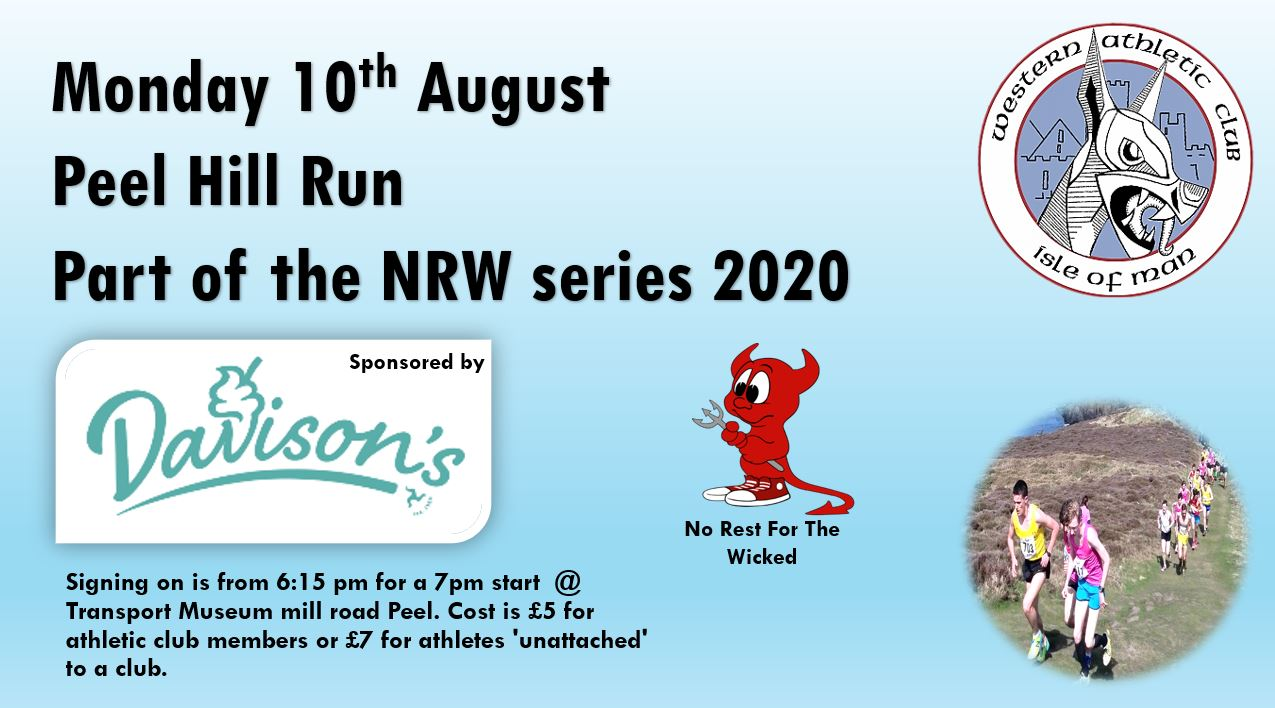 Peel Hill Run 10th August