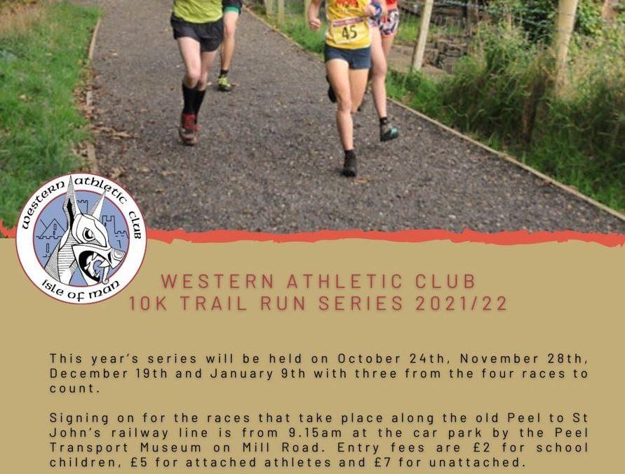Western Athletic Club 10k Trail Run Series 2021/22
